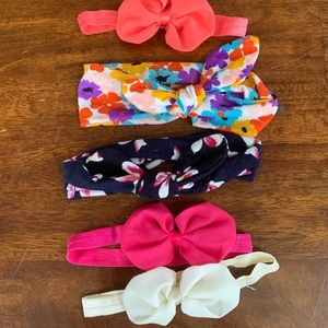 Other - LOT of 5 Baby Headbands